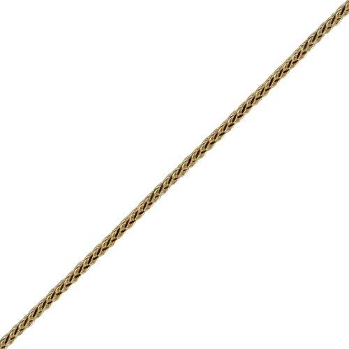 Oro Oro Oro amarillo 9 ct – 375/1000 – 19 x 11 mm pingüino sólido colgante con cadena Spiga 4e9358