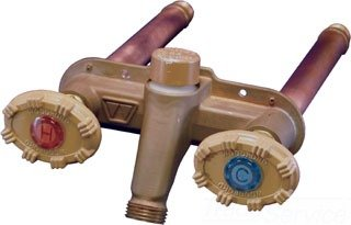 Woodford 22CP-12-MH 12'' Hot/Cold Frostfree Horizontal-Mount Faucet - 1/2'' MIP or Female Sweat Connection