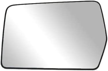 Fit System 88208 Driver Side Non-Heated Replacement Mirror Glass with Backing Plate