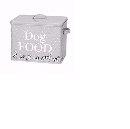 House of Paws HP991XL Polka Dogs Print Treat Tin and Scoop X Large