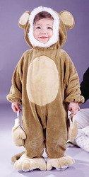 Cuddly Monkey Infant 6/12 Mo