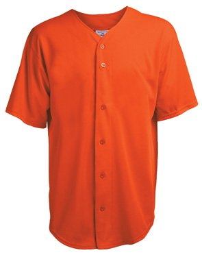 Cool Mesh Jersey - Adult Speedster Full Button Cool Mesh Jersey (Large)