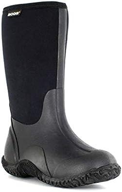 Bogs Kids Classic Black Insulated Rain Boots /& Drying Towel Bundle
