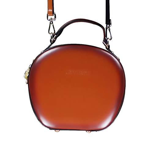 le per diagonale Magai in semplice e borsa pelle Retro a donne portatile tracolla semplice U7RpUP