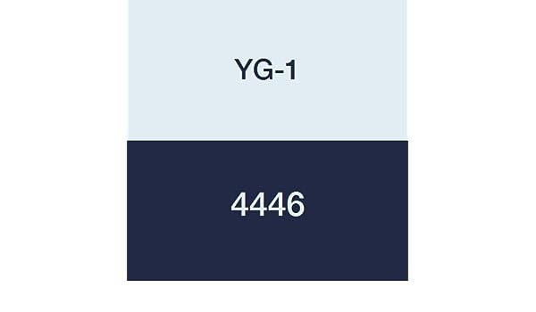 Uncoated Finish YG-1 04446 HSSCo8 End Mill Regular Length 1-1//4 6 Flute 4-1//2 Length
