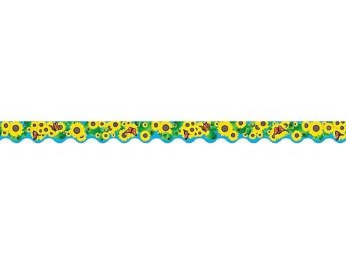 - Teacher Created Resources Sunflowers Border Trim, Multi Color (4133)