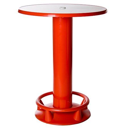 Stehtisch Quick-Table rot, Stehbiertisch, Bistrotisch