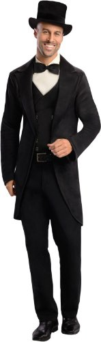 Rubie's Costume Disney's Oz The Great and Powerful Oscar Diggs, Black/White, Medium