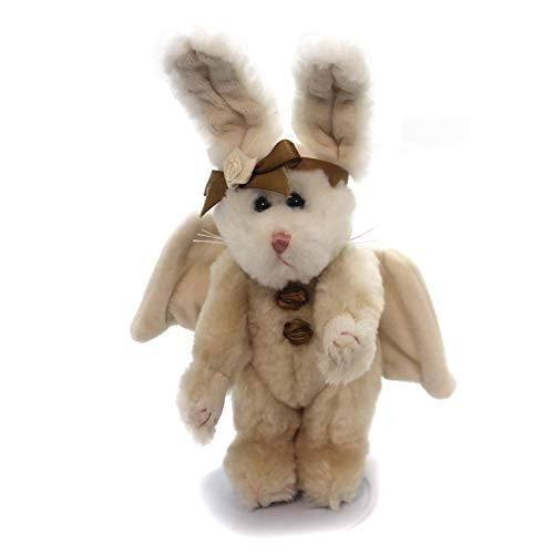 Boyds Plush Ornament - Boyds Bears Plush MOONDUST HARE ORNAMENT Fabric Rabbit Bunny Jointed 562408