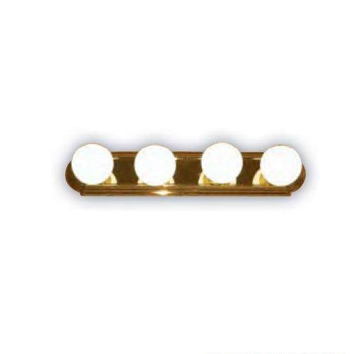 Brass Lights Polished Fixture 4 - Sunlite 45150-SU Bathroom Vanity Light Fixture 24