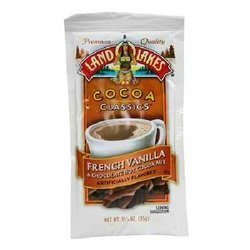 Land O Lakes French Vanilla and Chocolate Hot Cocoa Mix, 1.25 Ounce (Pack of 12)