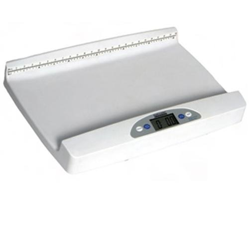 Health o meter 553KL Digital Portable Pediatric Baby Scale with Extra-Wide Tray, 44 lb x 0.5 oz.