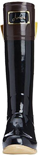 Black High Joules Evedon Women's Boots Welly Knee Black xU4A7q