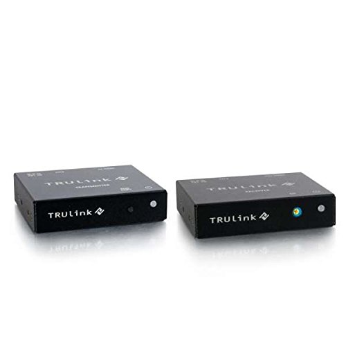 C2G/Cables to Go 29387 TruLink VGA over Cat5 Extender Box Transmitter to Box Receiver Kit by C2G