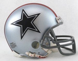 NFL Riddell Dallas Cowboys Mini Replica 1976 Throwback (Nfl Throwback Football Helmet)