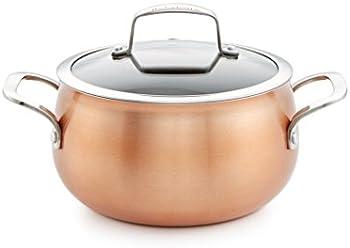 Belgique Copper Translucent 3-Qt. Soup Pot with Lid