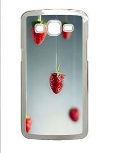 Samsung Galaxy Grand 2 7106 Case,Samsung Galaxy Grand 2 7106 Cases - Strawberries Art PC Custom Samsung Galaxy...
