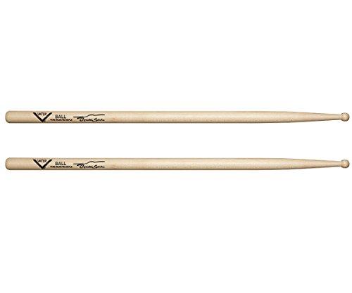 Vater Cymbal Stick Ball Wood Tip Sugar Maple Drum Sticks, Pair