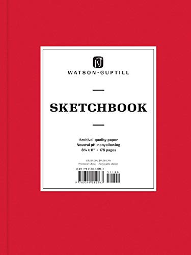 Large Sketchbook (Ruby Red) (Watson-Guptill Sketchbooks)