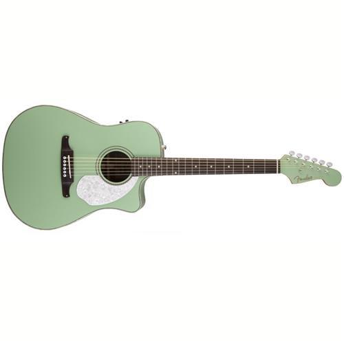 fender acoustic electric strat - 1