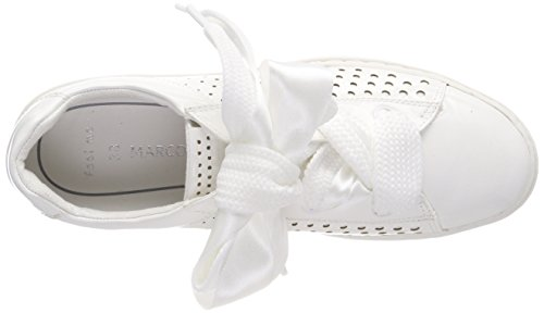 Marco Sneakers Blanc 23601 Femme White Patent Tozzi Basses a1aHq