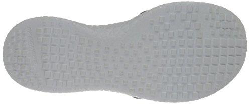 Femmes Plates Skechers L'éclatement introspecter Des Femmes Blanc Sandales Des Noir wqBaS