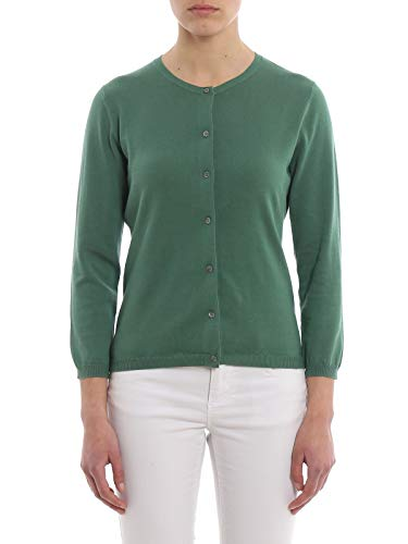 Verde Cotone 3505337101168 Donna Cardigan Aspesi FIqUxzz