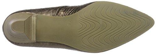 Marco Tozzi 22404 - Zapatos de Tacón Mujer Marrón (Bronce 900)
