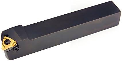 1 Stück Außen Gewinde Klemmhalter 10x10 bis 32x25 Drehstahl Rechts für Gewindeplatten 11ER, 16ER oder 22ER (25mm x 25mm für 16ER)