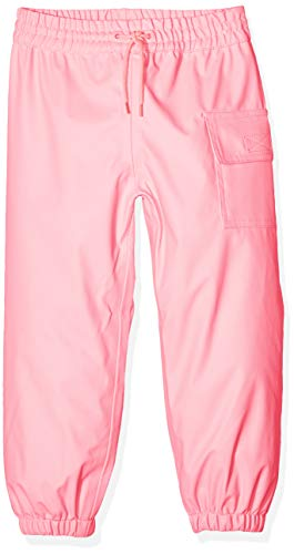 Hatley Kids' Big Splash Pants, Classic Pink, 10 Years (Best Rain Poncho 2019)