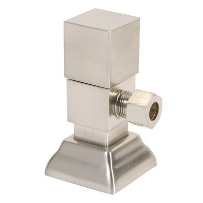 Plumbing Handle Mountain Square - Mountain Plumbing MT5004 Square Handle Angle Valves Finish: Oil Rubbed Bronze