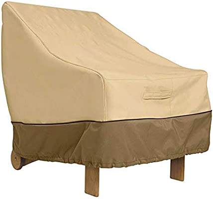 Mallalah - Funda de protección Impermeable para Muebles, sillas, sofás, Exteriores, cobertor de salón de jardín, Mesa reclinable: Amazon.es: Hogar