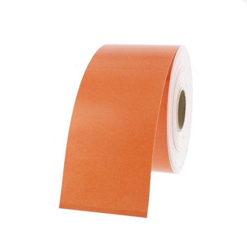 """Dymo 30374O Compatible Orange Appointment Cards 2"""" x 3-1/2"""" - 300 Cards Per Roll"""