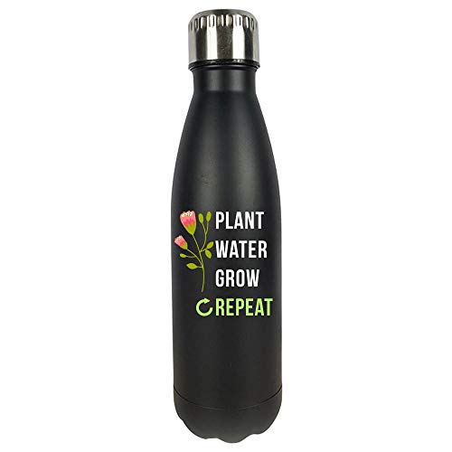 Funny Gardening Plant Water Grow Novelty Gift - Vacuum Sealed Water Bottle