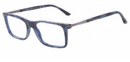 0ac4369433f Image Unavailable. Image not available for. Color  GIORGIO ARMANI Eyeglasses  AR 7005 5097 Blue Havana 54MM