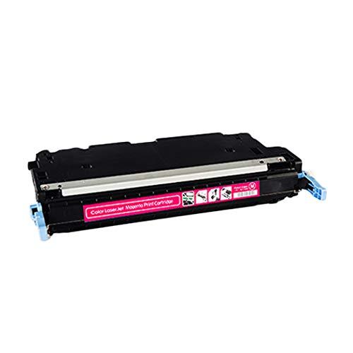 Suitable for HP HP C9730A C9731A C9732A C9733A Color Toner Cartridge, HP5500/5550/C9730A/C9731A/9732A/9733A Printer Compatible Toner Cartridge, 4 Colors Optional (Color : Red)