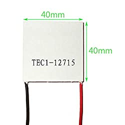 Nrthtri smt 5pcs TEC1-12715 12V Heat Sink Thermoelectric Cooler Peltier Plate Module Eater