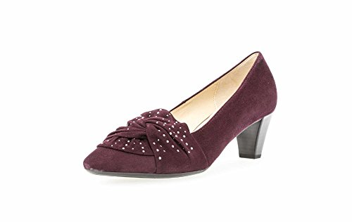 Bordeaux Shoes Women's Red Court Gabor apZBRwqn