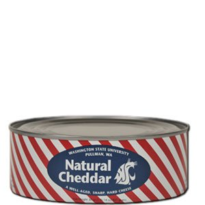 WSU Wazzu Creamery Natural Cheddar Cheese 30 Oz