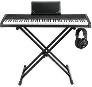 Korg B1 BK Piano digital negro Stage Juego Incluye ...
