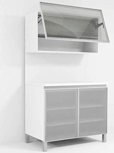Amazon.com: Custom Made Glass Aluminum Cabinet Doors for ...