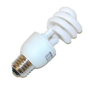 (OSRAM Sylvania GIDDS-685455 685455 Dulux El Spiral Compact Fluorescent Lamp, Mini, 13W, 3000K, 82 CRI, Medium Base, 120V s)