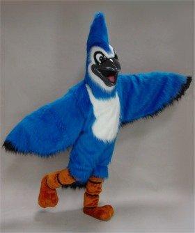 Mask U.S. Blue Jay Mascot Costume