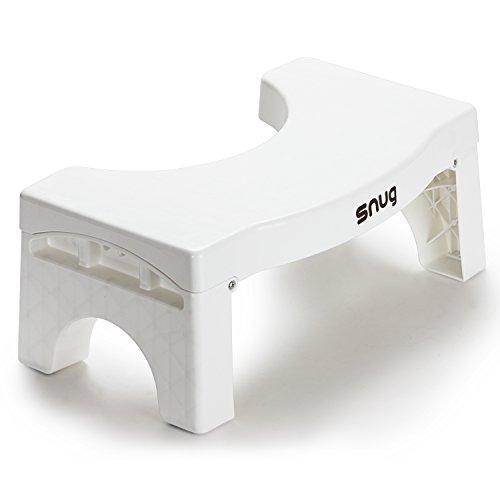 Snug EZ Stool Folding Toilet Stool - 7 inch Bathroom Step