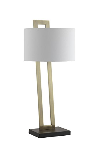 Catalina Lighting 20604 000 Carter Table Lamp With White
