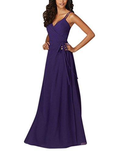 Annies Dress for Bridesmaid 4 Floor Cross neck Color Bridal Backless V Criss Wedding length azwaqrC