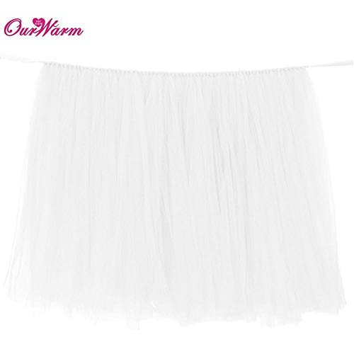 High Quality | Party DIY Decorations | Wedding Party Tulle Tutu Table Skirt Birthday Baby Shower Wedding Table Decorations DIY Craft Supplies Hot Sale | by -