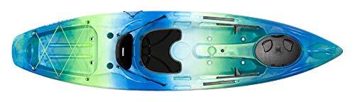 Perception Pescador 10   Sit on Top Kayak for Adults   Fishing Kayak   10'   Déjà vu by Perception Kayaks