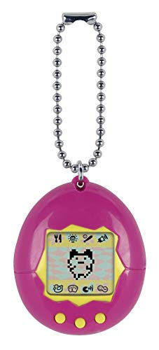(Tamagotchi Electronic Game, Pink/Yellow)