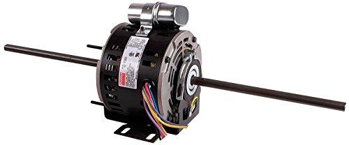 Industrial Dayton Motor - Dayton 5WJC4 RAC Motor, PSC, 1/4, 1625, 115 V, 2-shaft